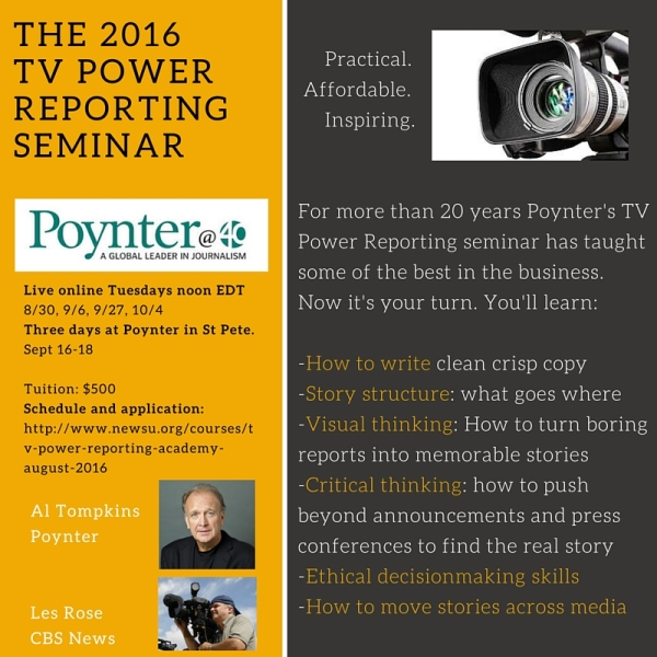 Poynter TV Assignment Editor Workshop (1)